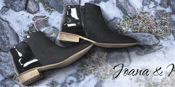 Dámske kožené topánky do mesta Joana and Paola