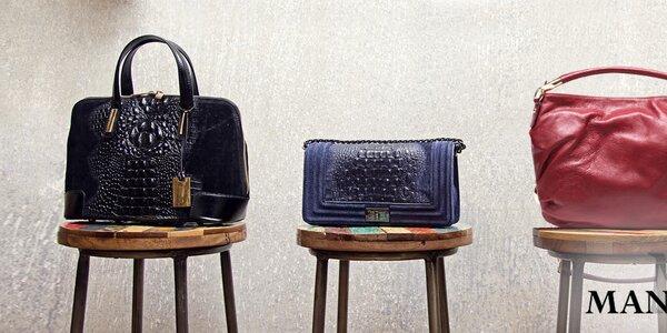 Očarujúce kožené kabelky Mangotti