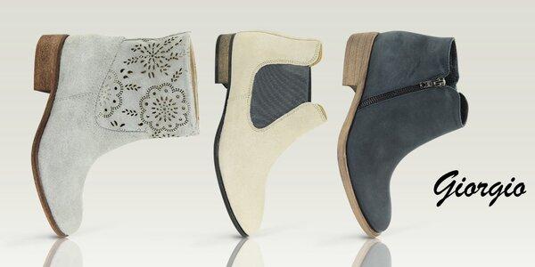 Elegantné dámske topánky do mesta Giorgio Picino