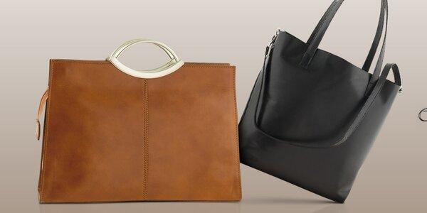 Kožené talianske kabelky Ore 10