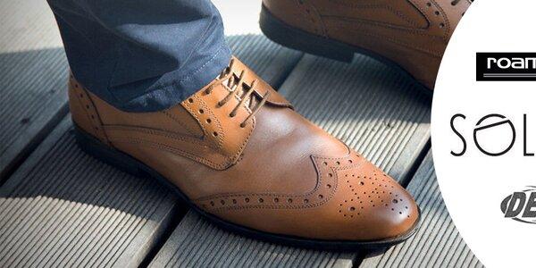 Elegantné pánske topánky Dek, Roamers, Route21