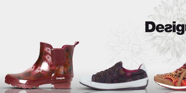 Neodolateľné dámske topánky a čižmy Desigual