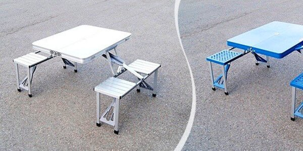 Skladací piknikový stôl