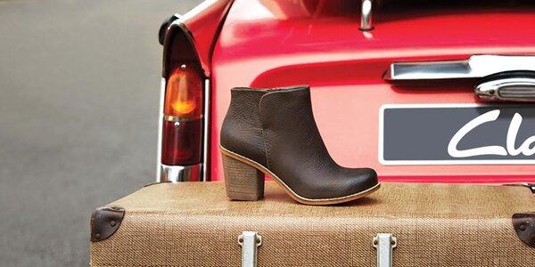 Kvalitná obuv pre dámy Clarks