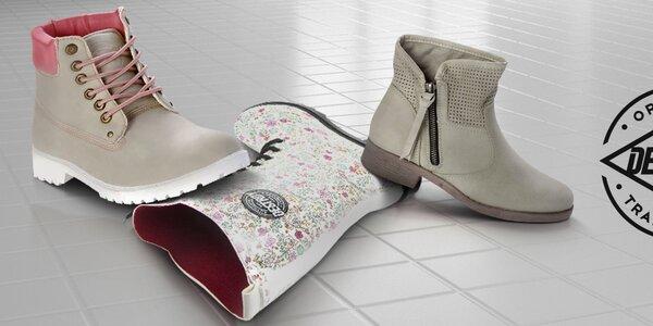 Parádne dámske topánky Destroy