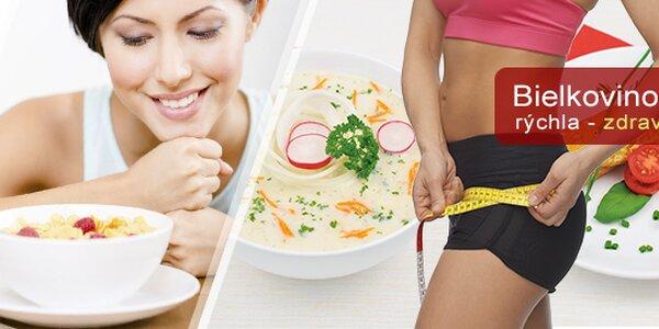 Schudnite rýchlo a zdravo s bielkovinovou diétou