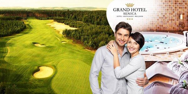 Romantika a golf v Grand Hotel Senica***
