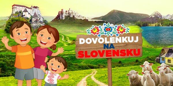 Dovolenkuj na Slovensku