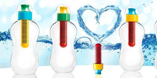 Ekologická fľaša s uhlíkovým filtrom Bobble