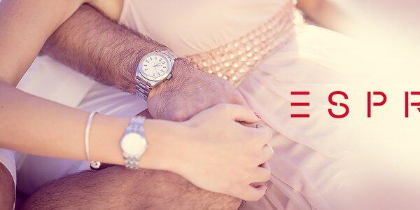 Pripnite si na zápästie štýlové hodinky Esprit