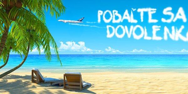 Pobaľte sa na dovolenku