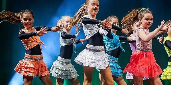 Tréningy showdance pre deti od 4 do 15 rokov