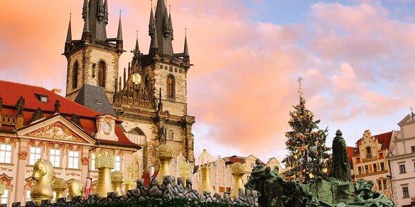 Zima s nádychom luxusu v Hoteli Anděl*** v Prahe