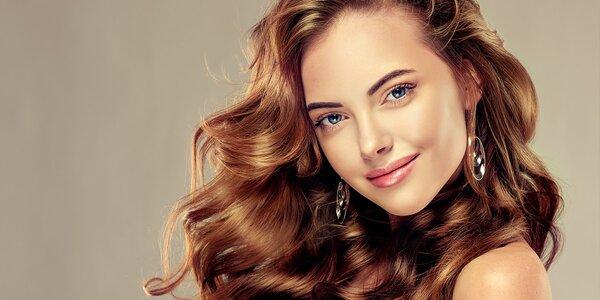 Strih so špeciálnou vlasovou kúrou z placenty alebo trichologické vyšetrenie…