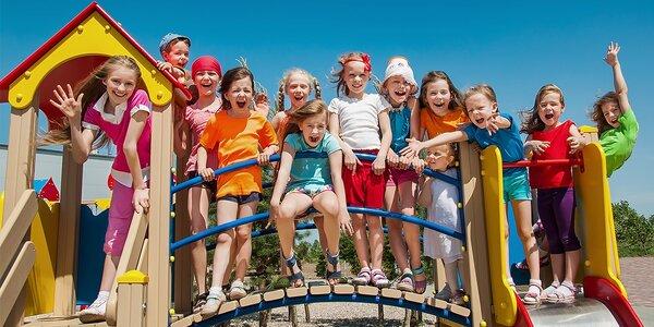 Denný vstup do letného tábora Jolly camp Funcity!