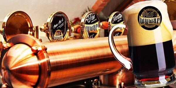 Poďte na prehliadku holíčskeho pivovaru Wywar spojenú s ochutnávkou! V cene aj…