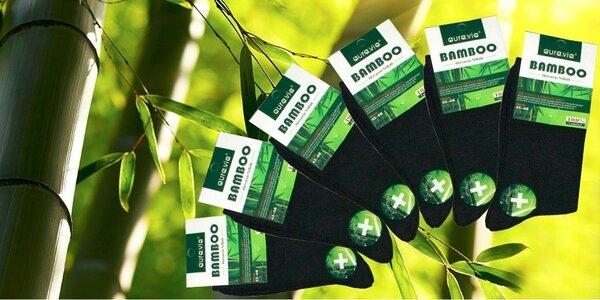 Značkové bambusové ponožky s poštovným!
