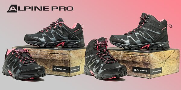 Dámska sofshellová obuv Alpine Pro