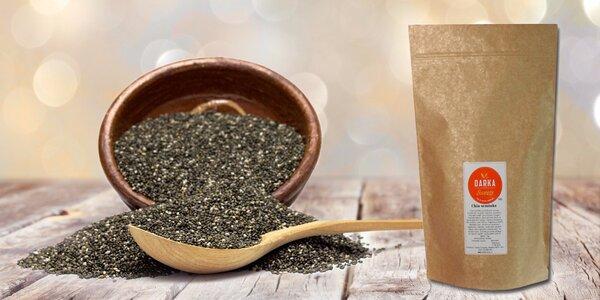Chia semiačka pre zdravie i chudnutie v 500 alebo 1000 g balení