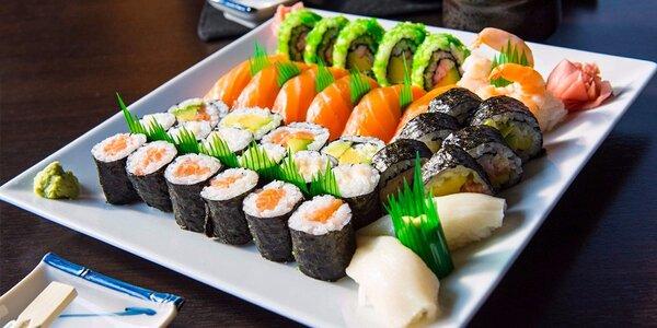Sushi bar Kikaku - výborné sushi menu pre 2 osoby