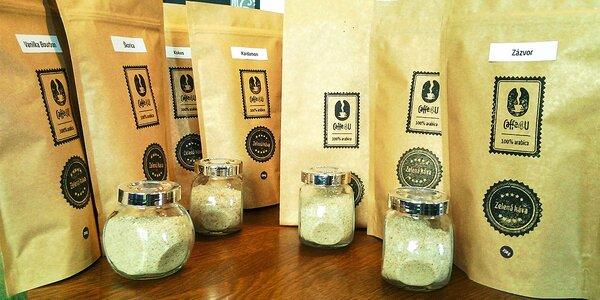 BIO Mletá zelená káva – s rôznymi príchuťami pre vaše zdravie