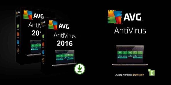 AVG AntiVirus 2016 alebo AVG Internet Security 2016 na 12 mesiacov