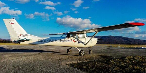 Pilotovanie lietadla Cesna 150 pre malých aj veľkých!