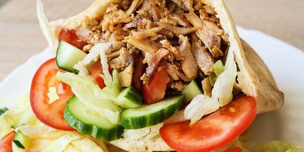 Originál kebab s teľacím mäsom v centre mesta! V pita žemli alebo tanier!