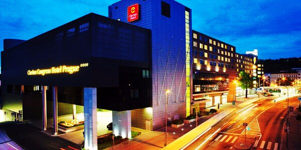 Luxusný Clarion Congress Hotel Prague****