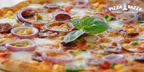 Pizza, rizoto alebo šalát + dezert pre dvoch. Aj bezlepková verzia pizze!