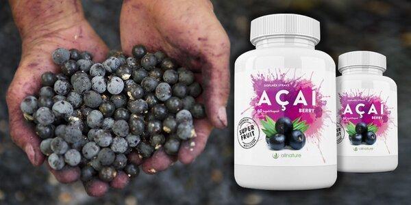 Superpotravina antioxidant Acai berry Allnature - 60 kapsúl