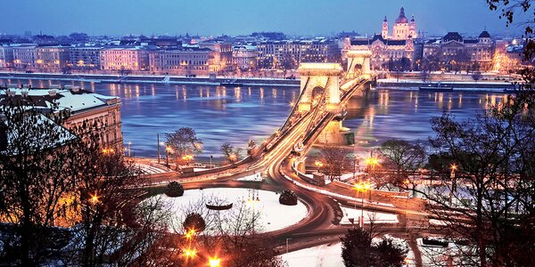 Adventná Budapešť s prehliadkou mesta