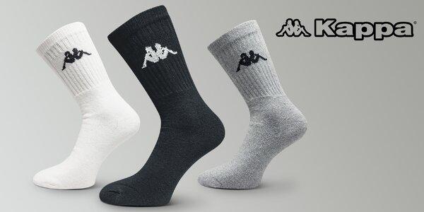 Komfort pre vaše nohy: 3 páry kvalitných ponožiek Kappa