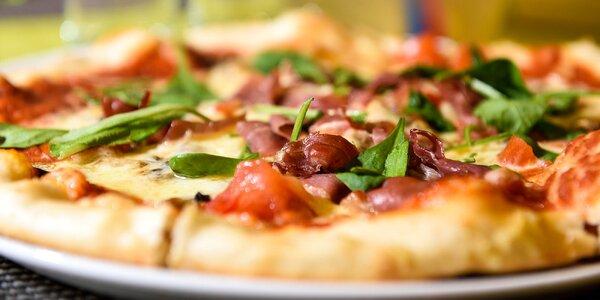 2 x pizza s citronádou - výber až z 10 druhov!