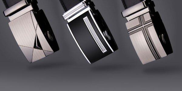Kvalitné opasky z pravej hovädzej kože s rôznymi druhmi praciek na výber