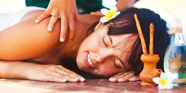 Relaxačná masáž so škoricovým zábalom