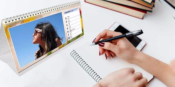 Vytvorte si personalizované kalendáre z vlastných fotografií!