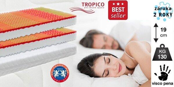 Matrace Tropico Visco Baron - bestseller s dodaním do 24 hodín od zaplatenia!