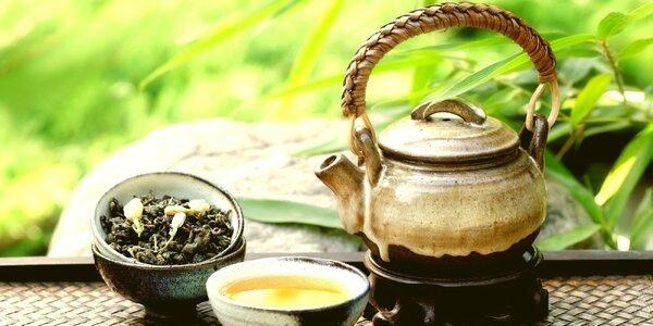Kvalitné sypané čaje, goji v čokoláde a hrnčeky vhodné aj ako darček