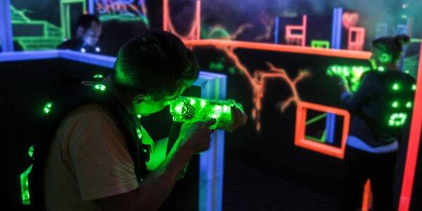 LASER GAME! Úplne nová laser aréna - jediná v Martine!