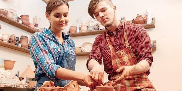 2-hodinový kurz keramiky a modelovania - perfektne spoločné chvíle