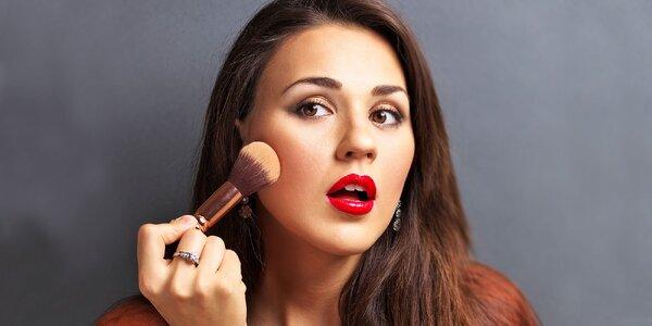 Kurz sebalíčenia a vizáže s profesionálnou kozmetickou poradkyňou