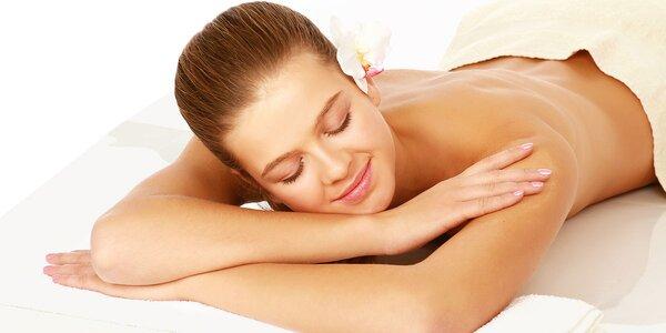 Prístrojová masáž so škoricovým alebo parafínovým zábalom