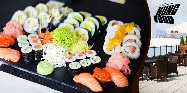 Sushi set so 42 kúskami