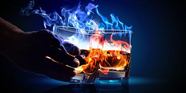Horúce alko i nealko nápoje či drinky v ľadových pohárikoch