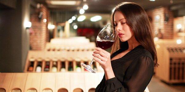 Degustácia vín podľa vlastného výberu
