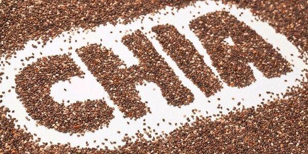 500 a 1000g CHIA semienok pre vaše zdravie a energiu