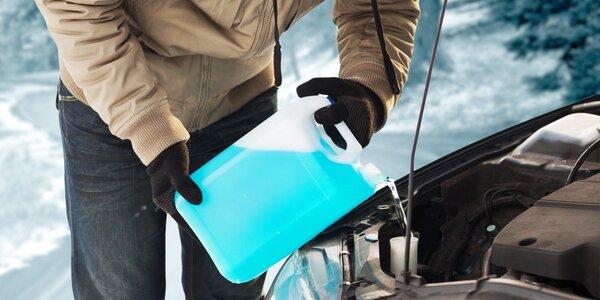 Zimná zmes do ostrekovačov s nanotechnológiou