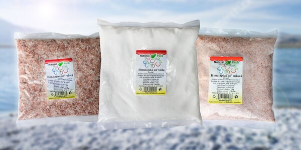 Jemná alebo hrubá Himalájska soľ
