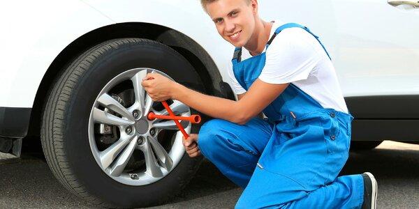 Prezutie pneumatík s vyvážením